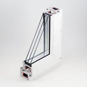 REHAU SELECTED 705-камерный профиль системы монтажной глубиной 70 мм позволяеют установить стеклопакеты толщиной 40 мм и добиться сопротивления теплопередаче окна Rо=0,94 Вт·°С/Вт;видимая часть окна системы RS 70 (рама+створка) имеет ширину всего 110 мм, благодаря чему светопропускание увеличивается на 10% по сравнению с изделиями из обычных профилей;оригинальное уплотнение из каучука RAUTUBE, надёжно защищающее от сквозняков и пыли;долговечная фурнитура;эргономичные ручки IDEA-Design, рассчитанные на более чем 22 000 циклов открывания/закрывания;индивидуальный дизайн.